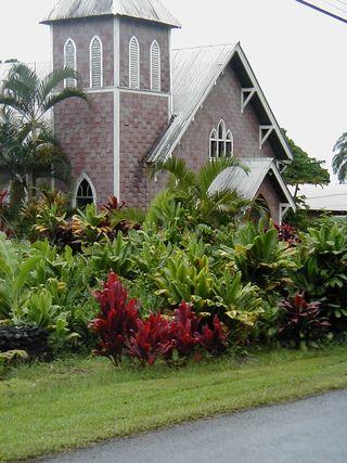 Eglise fleurie